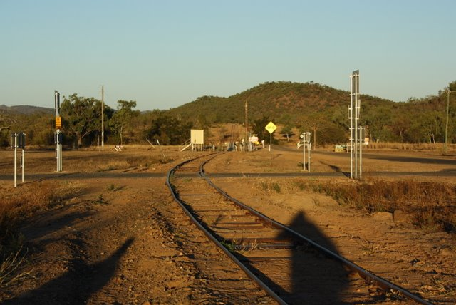 Looking towards the Copperfield River from the Einasleigh Station in the late afternoon sun